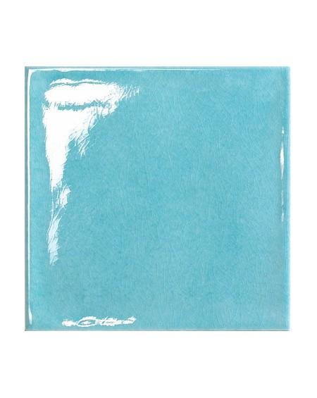 Koupelnový obklad retro lesklý Kraklé Azzurro 15x15 cm výrobce Tonalite It.