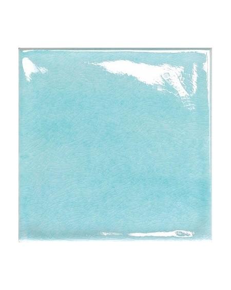 Koupelnový obklad retro lesklý Kraklé Azzurro Chiaro 15x15 cm výrobce Tonalite It.