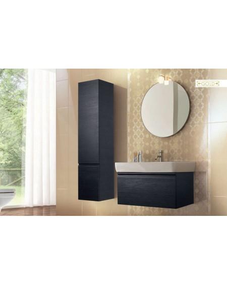 Koupelnový obklad lesklý žlutý Satin Gold 25x41 cm výrobce Brennero dekore Chic Lustro koupelny 1/ks