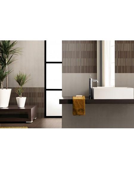 Koupelnový obklad capucino Flou Moca 25x60 cm výrobce Brennero It.