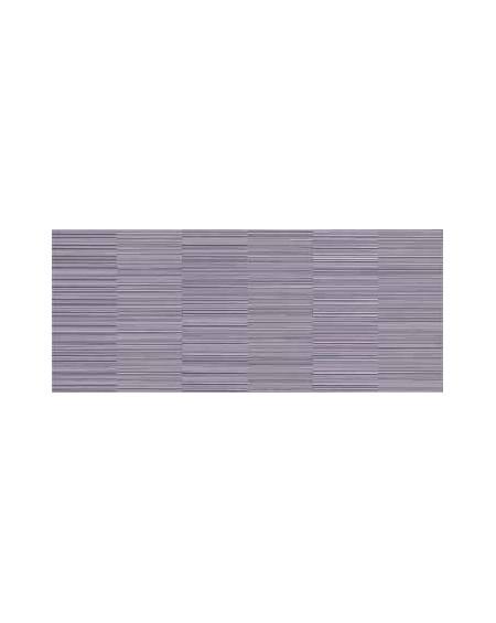 Koupelnový obklad Flou Lilla 25x60 cm výrobce Brennero It. Růžový lila dekor Limiro 1/ks