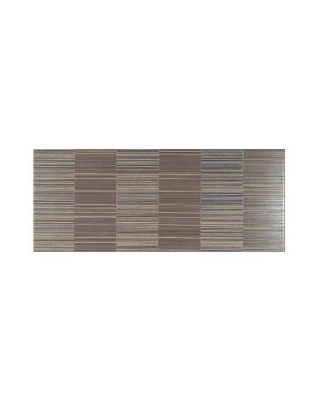 Koupelnový obklad capucino Flou Moca 25x60 cm výrobce Brennero It. Dekor Limiro 1/ks
