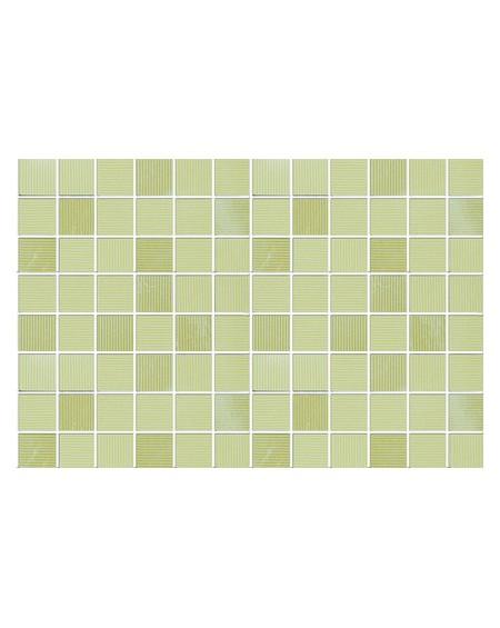 Koupelnový obklad zelený lesklý Presuntuosa Lime 25x30 cm výrobce Brennero It. Mosaico