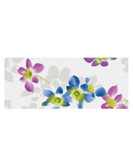 Koupelnový obklad lesklý Presuntuosa Lime 25x60 cm výrobce Brennero viola dekore Fashion set 2/ks