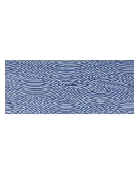 Koupelnový obklad modrý lesklý Presuntuosa Blu 25x60 cm výrobce Brennero dekore Wave 1/ks