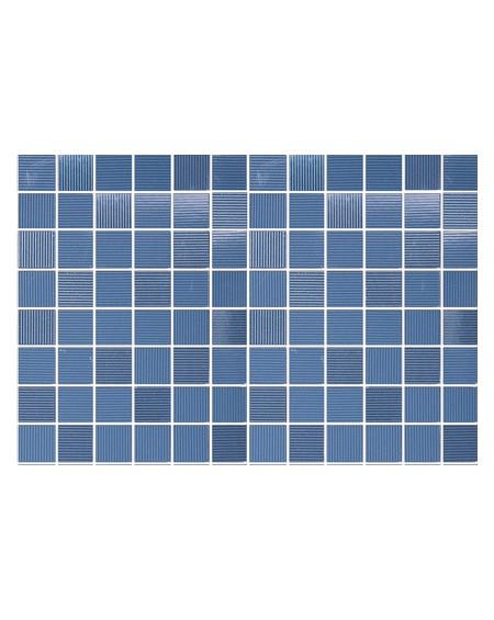 Koupelnový obklad modrý lesklý Presuntuosa Blu 25x30 cm výrobce Brennero mosaico 1/ks