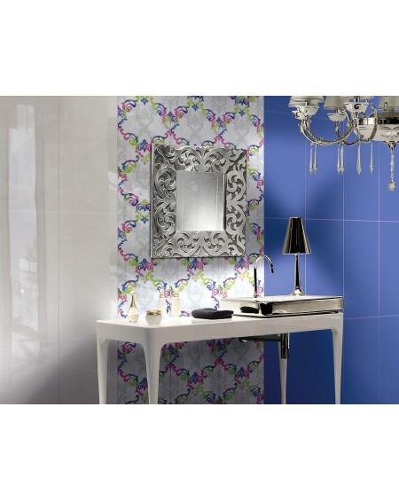 Koupelnový obklad modrý lesklý Presuntuosa Blu 25x60 cm výrobce Brennero koupelny
