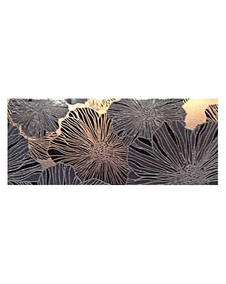 Koupelnový obklad Black & White Presuntuosa Black 25x60 cm Nero výrobce Brennero dekore Appeal set 2/ks