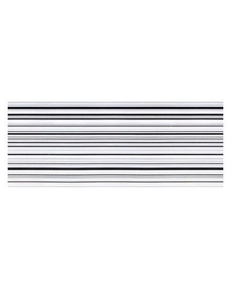 Koupelnový obklad Black & White Presuntuosa Black 25x60 cm Nero výrobce Brennero dekore Righe Nere 1/ks