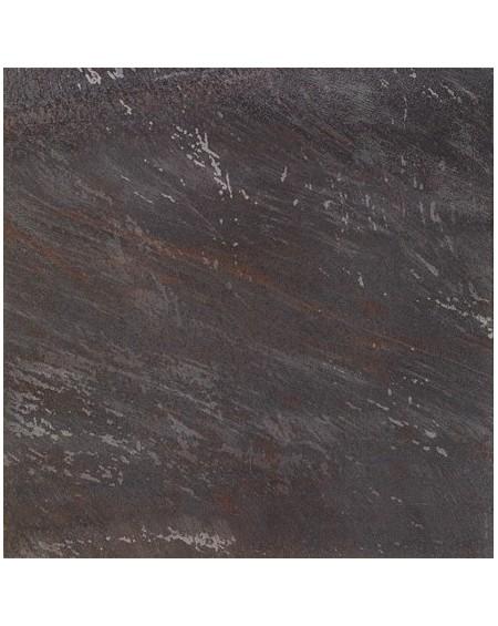 Dlažba obklad imitující barevný mramor černý Goldeneye Dark 50,5x50,5 cm Lappato Rtt. Kalibrováno Brennero