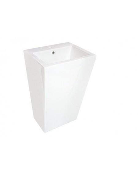 Umyvadlo volně stojící lawita Quadro 500x440x805 mm materiál porcelán White