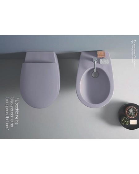 Sanitární set Bowl+ barevné provedení Malva SBS02.MA - SBS09.MA výrobce Globo colore barevná toaleta bidet