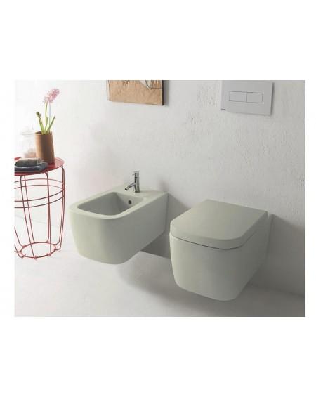 Sanitární set serie Stone barevné provedení Cachemire výrobce Globo colore barevná wc toaleta bidet umyvadlo