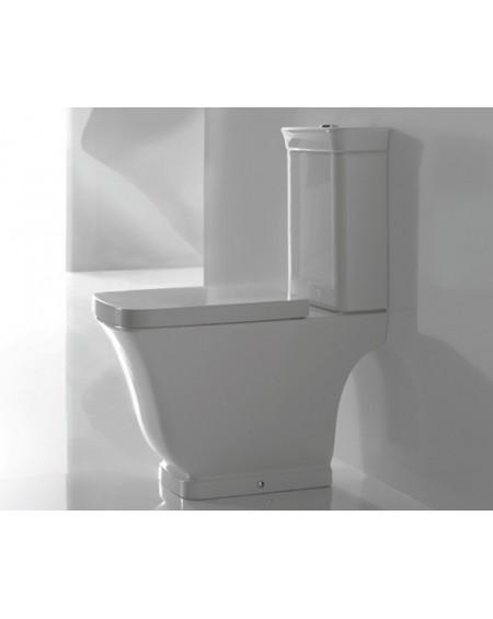 Stojící wc toaleta kombi Relais 63cm s poklopem Softclose výrobce Globo materiál porcelán CERASLIDE® maxiclean antibak.