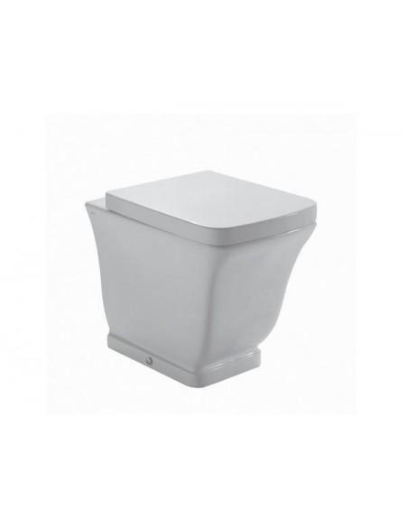 Stojící wc toaleta Relais 56cm s poklopem Softclose výrobce Globo materiál porcelán CERASLIDE® maxiclean antibak.
