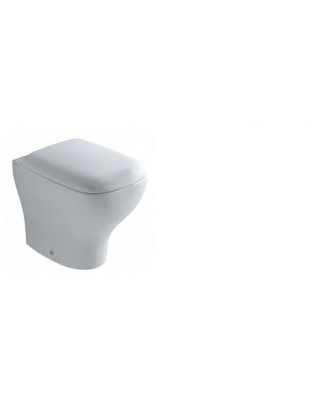 Stojící wc toaleta Genesis 55cm s poklopem Softclose výrobce Globo materiál porcelán CERASLIDE® maxiclean antibak. Colore white