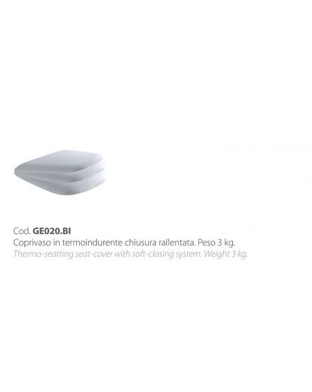 Wc sedátko softclose se zpomalovacím mechanismem Genesis colore white