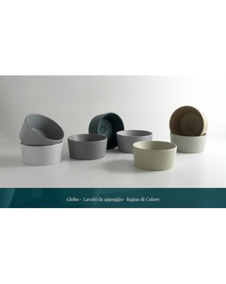 Dostupná barevná provedení serie výrobků Genesis Globo ceramica wc toaleta mísa bidety umyvadla vany vaničky materiál porcelán