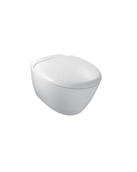 Závěsná wc toaleta Presquile 56cm včetně sedátka se systémem slow-close 3992K-00