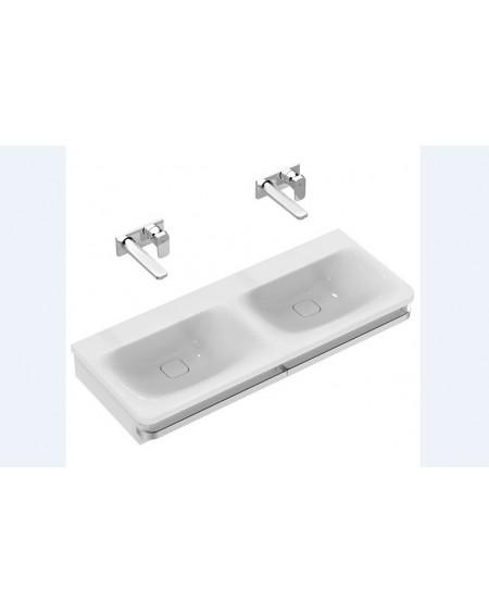 Dvojumyvadlo Tonic ll 120x49cm výrobce Ideal Standard porcelán s držákem na ručníky