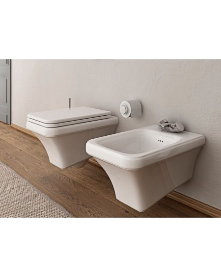 Závěsná wc toaleta Tosca 54cm sedátko s poklopem Softclose výrobce Hidra
