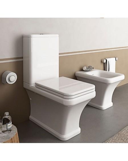 Stojí wc toaleta kombi Tosca 63cm sedátko s poklopem softclose výrobce Hidra complete