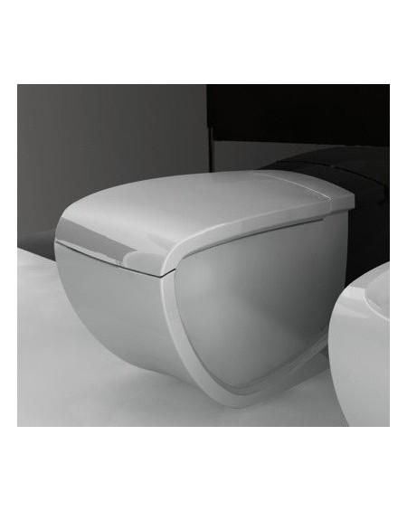 Stojící wc toaleta white Hi-line 54,5cm výrobce Hidra