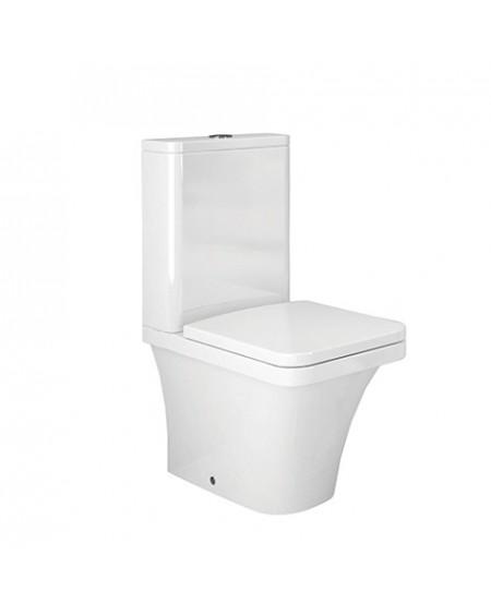 Stojící toaleta kombi white Flat 67cm sedátko slow-close výrobce Hidra