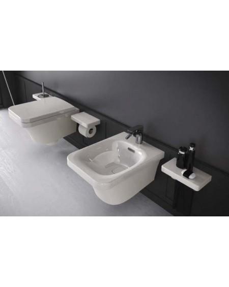Závěsná wc toaleta white Flat 53cm sedátko slow-close výrobce Hidra