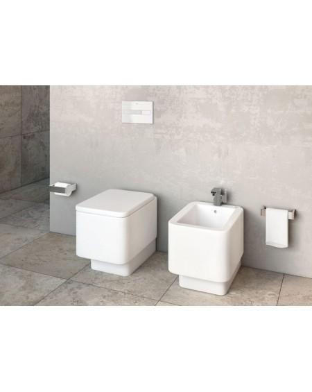 Sanitární stojící wc set Element 55cm hluboké splachování sedátko Softclose výrobce Roca ( wc toaleta)