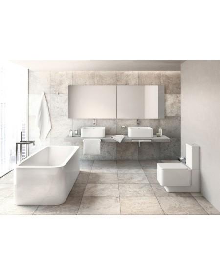 Sanitární stojící wc set Element 66cm kombi hluboké splachování sedátko Softclose výrobce Roca