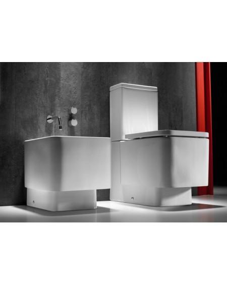 Sanitární stojící wc set Element M 66cm kombi hluboké splachování sedátko Softclose výrobce Roca