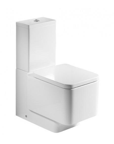 Stojící wc toaleta kombi Element M 66cm sedátko s poklopem Softclose včetně nádržky výrobce Roca komplete úpravě maxiclean