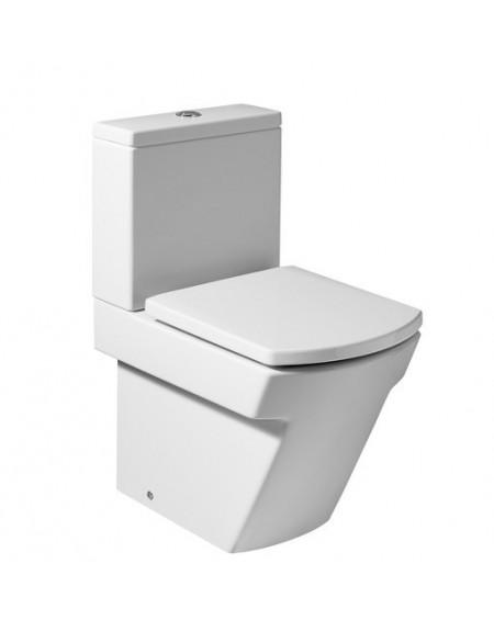 Stojící wc toaleta kombi Hall 59,5cm Compact včetně nádržky včetně sedátka sofclose výrobce Roca set complete