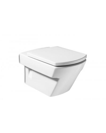 Závěsná wc toaleta Hall 56cm Longe včetně sedátka Softclose výrobce Roca set komplete