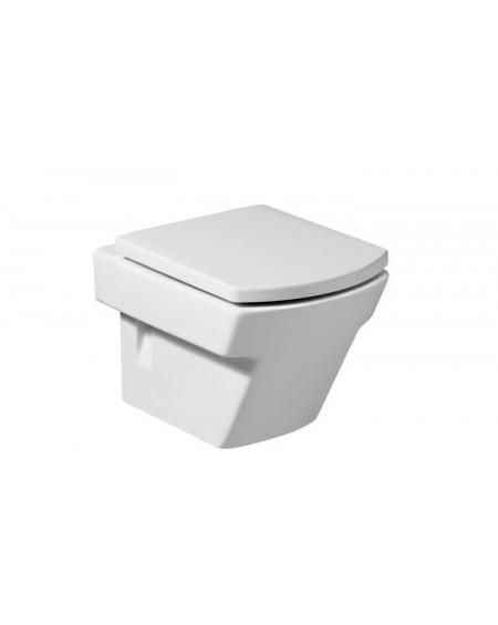 Závěsná wc toaleta Hall M 50cm Compact včetně sedátka Softclose výrobce Roca set komplete povrch maxiclean