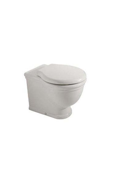 Stojící wc toaleta vintage white Paestum 57cm výrobce Globo