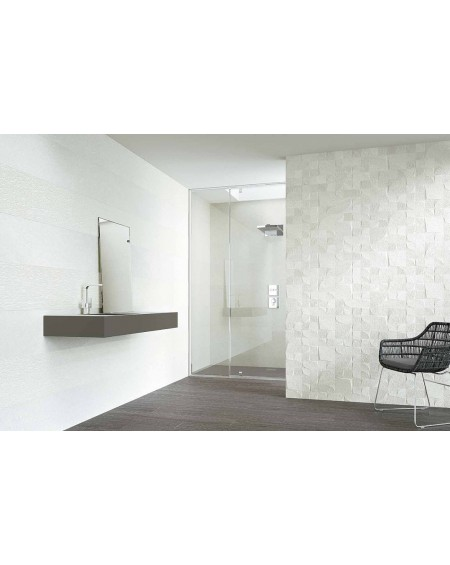 Obklad imitující kámen pískovec bílý Narbonne blanco 31,5x100 výrobce Grespania