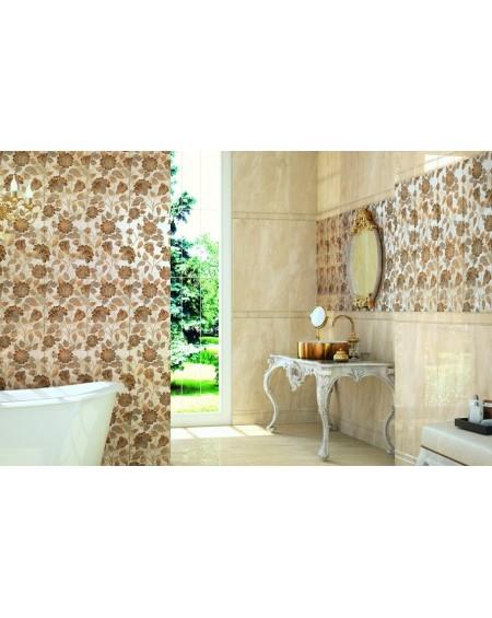 Zlaté umyvadlo materiál porcelán plus PVD White And Gold 50x38x13.3 cm výrobce Dune ceramic Es.