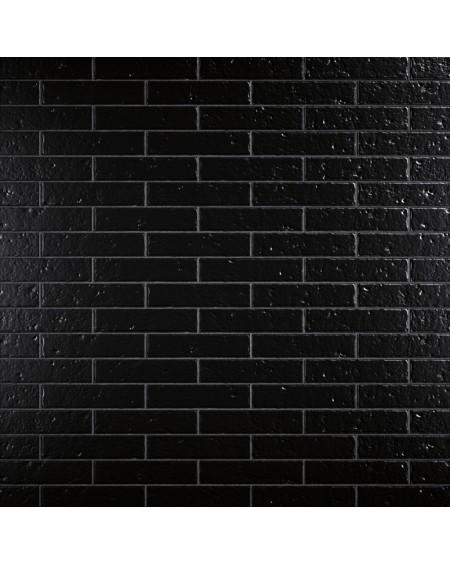Dlažba obklad matný Sevila klinker negro 5,8x24,5 cm výrobce ape ceramice obklad černý