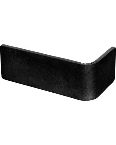 Obklad matný Sevila klinker negro 5,8x24,5 cm výrobce ape ceramice obklad rohový vnj černý