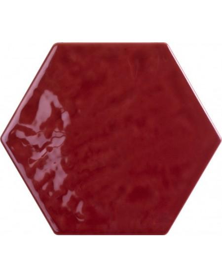 Dlažba obklad hexagon lesklý Exabright Esagona Bordeaux 17.5x15.3 cm výrobce Tonalite šestihran