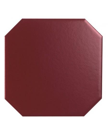 Dlažba obklad Diamante bordeaux Ottagonetta 15x15 cm matný