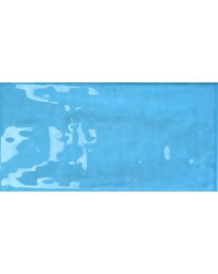 Obklad retro Joyful azure 10x20 cm výrobce Tonalite modrý azzuro