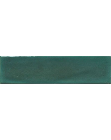 Koupelnový obklad retro lesklý Opal emerald 7,5x30 cm výrobce Cifre tmavý zelený