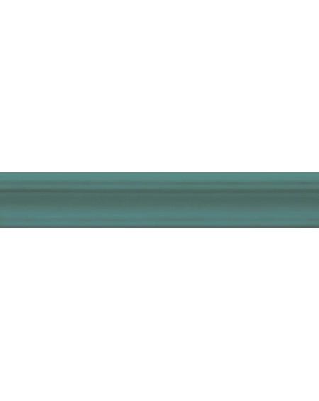 Koupelnový obklad retro lesklý Opal emerald 5x30 cm výrobce Cifre tmavý zelený ks / Moldura
