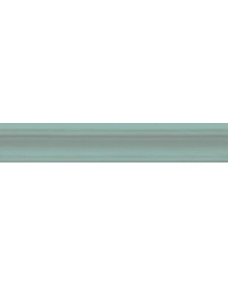 Koupelnový obklad retro lesklý Opal Turquoise 5x30 cm výrobce Cifre světlý zelený ks / Moldura