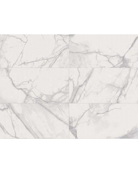 Dlažba obklad imitující mramor Supreme Royal Statutario 60x120 cm lappato výrobce Flaviker PI.SA lesk bílý mramor
