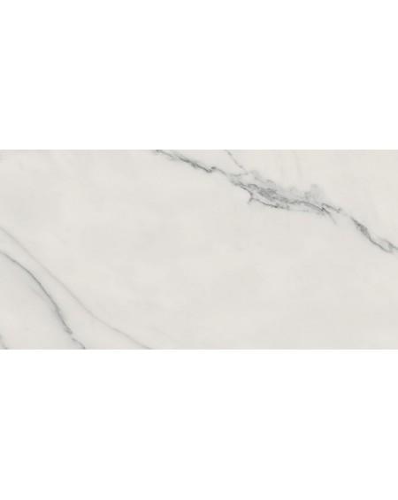 Dlažba obklad imitující bílý mramor I Marmi Statuario 80x160 cm lappato výrobce Ava lesklý mramor tl. 6mm. Velkoformátový