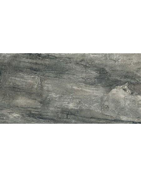 Dlažba obklad imitující mramor Icon Charcoal 30x60 cm výrobce La Fabbrica matný tmavě šedý